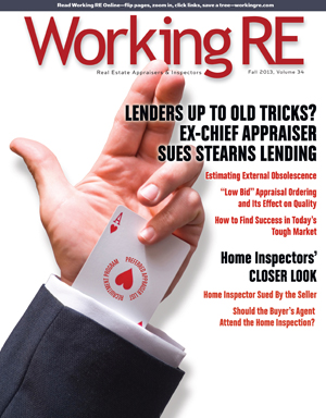 WRE, Working RE Magazine, Appraiser News, Appraiser Magazine, Real Estate Appraisers, Volume 33