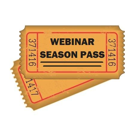 Webinar Season Pass Tickets