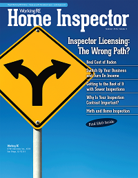 Home Inspectors, Magazine, News, Information, Industry