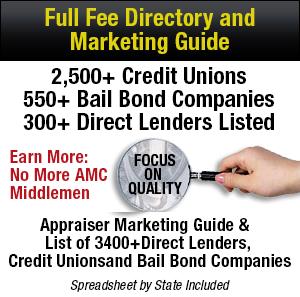 Full Fee Guide, Appraisers, Marketing Guide, Full Fee Directory, Full Fees