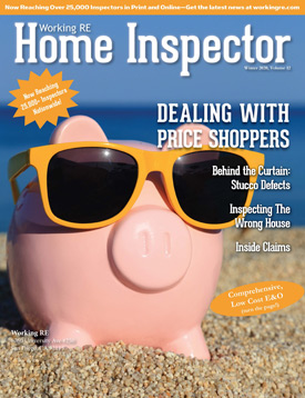 Home Inspector Issue 12 - Winter 2020