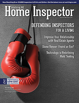 Home Inspector Issue 16 - Summer 2021