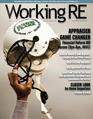 WRE Current Edition - HVCC: Appraiser Last Laugh?