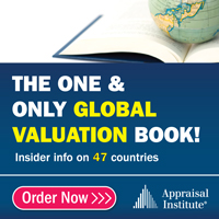 Appraisal Institute: The One and Only Global Valuation Book