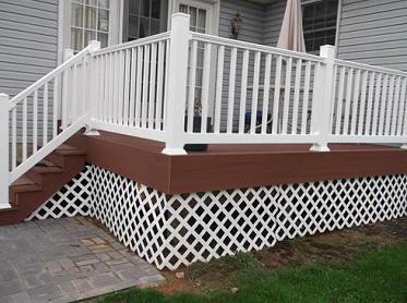 Home Inspectors, Deck Inspections, Guard Railing