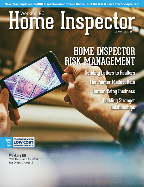 Home Inspector Issue 14 - Fall 2020