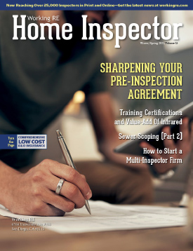 Home Inspector Issue 15 - Winter/Spring 2021