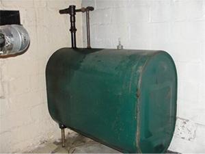 275 Gallon Indoor Fuel Tank